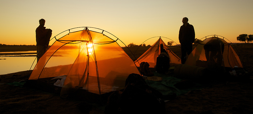 pokwe sunrise fly camp