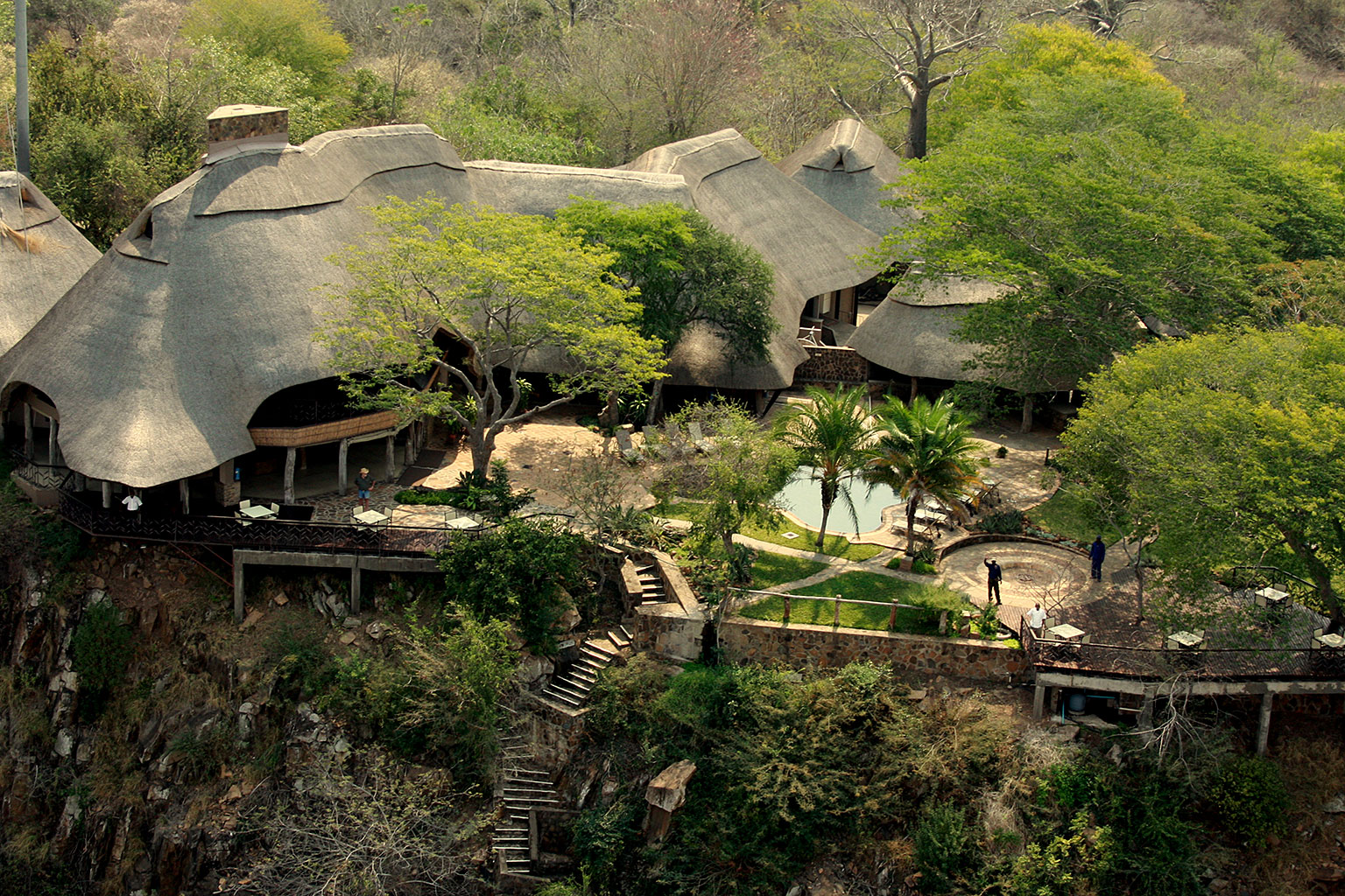 Aerial-Photo-of-Chilo-Gorge-Safari-Lodge