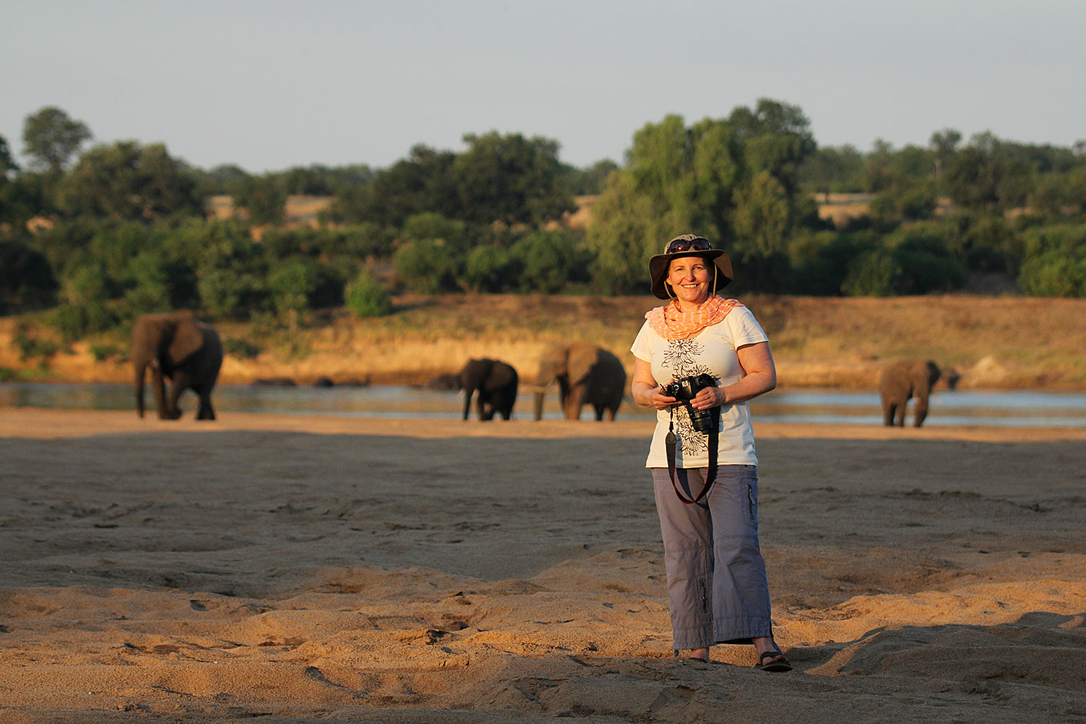 Teri-with-elephants